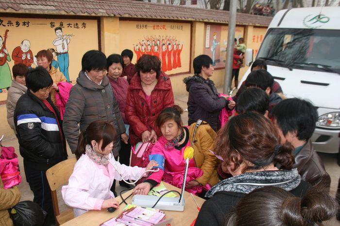 成安县举行 人口文化百村行 活动启动仪式